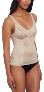 Vanity Fair Brand New Without Tag Vanity Fair Women's Satin Glance Built Up Camisole, Damask neutral, sz 40