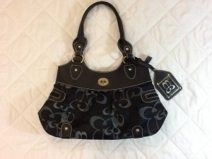 Other Tote in TWO TONE BLUE