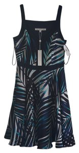 Trina Turk short dress Blue Pattern on Tradesy