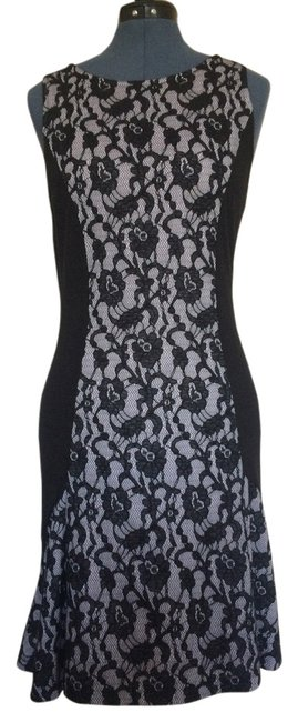 Preload https://item3.tradesy.com/images/maeve-black-and-white-lace-purchased-at-anthropologie-knee-length-cocktail-dress-size-8-m-12901567-0-1.jpg?width=400&height=650
