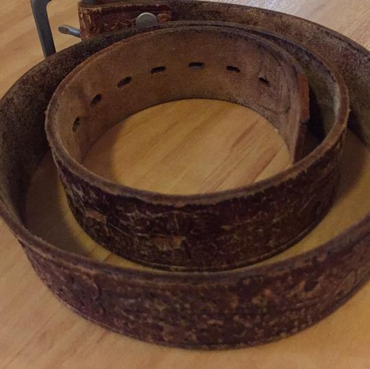 Hollywood Trading Company Vintage Leather Belt