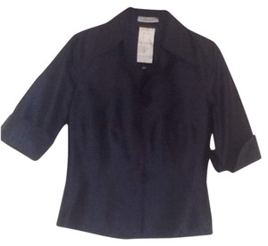 René Lezard Top Navy Blue