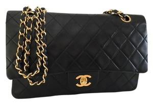 Chanel 2.55 255 Double Flap Shoulder Bag