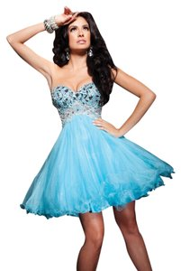 tony bowls Coktail Pageant Dress
