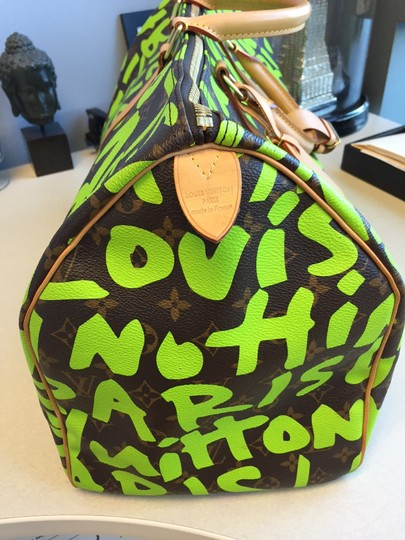 Louis Vuitton Limited Edition Stephen Sprouse Keepall Keepall 50 Travel Bag