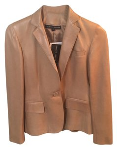 Ralph Lauren Black Label Tan, beige Leather Jacket