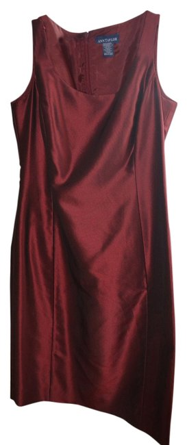 Preload https://item3.tradesy.com/images/ann-taylor-deep-red-knee-length-cocktail-dress-size-petite-2-xs-12902557-0-1.jpg?width=400&height=650