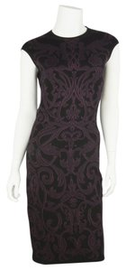 Alexander McQueen short dress Black/Purple on Tradesy