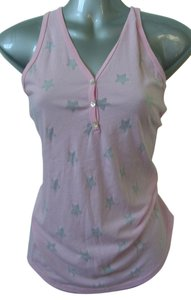 Victoria's Secret Rich Girl Buttons Racerback Top Pink
