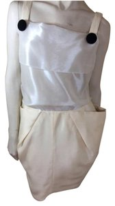 Roland Mouret short dress Cream on Tradesy