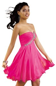 Alyce Designs Short Prom Strapless Cheap Dress