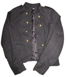 H&M Button Down Black Blazer