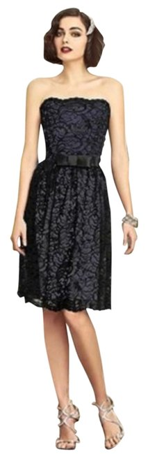 Preload https://item3.tradesy.com/images/dessy-amethyst-black-2893-mid-length-cocktail-dress-size-12-l-12903652-0-2.jpg?width=400&height=650
