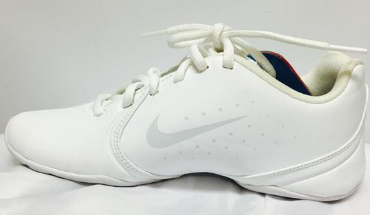 Nike White/Silver/Multi Color Inserts Athletic