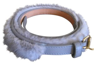 Louis Vuitton Louis Vuitton RUNWAY Mink Fur Belt
