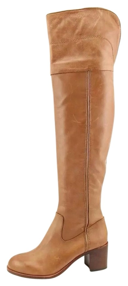 Sam Edelman Tan New Riding Joplin Over The Knee Riding New Boots/Booties 2ad302