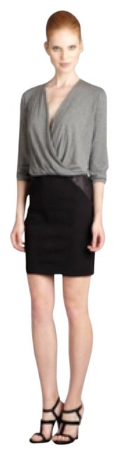 Preload https://img-static.tradesy.com/item/12904702/mason-by-michelle-mason-black-and-grey-short-casual-dress-size-8-m-0-1-650-650.jpg