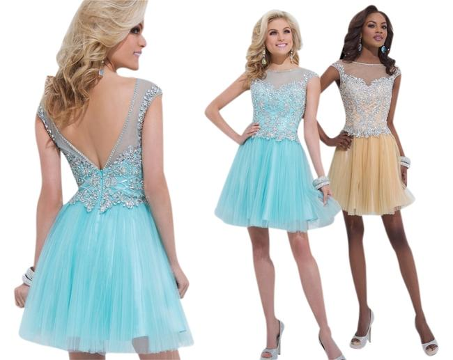 Tony Bowls Pageant Talent Number Dance Beaded Dress