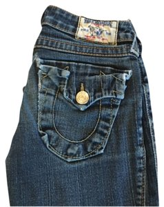 True Religion Denim Straight Leg Jeans