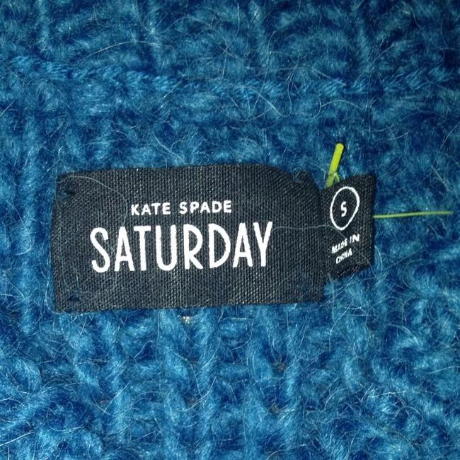 Kate Spade Blue Tunic Sweater