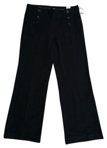 Maurices Dress Slacks Wide Leg Pants Black
