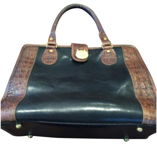 Preload https://img-static.tradesy.com/item/12905449/brahmin-doctor-blackbrown-leather-satchel-0-1-540-540.jpg