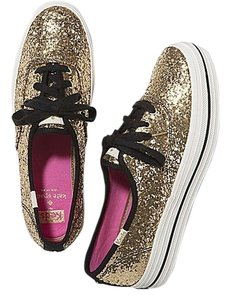Kate Spade Gold glitter Athletic