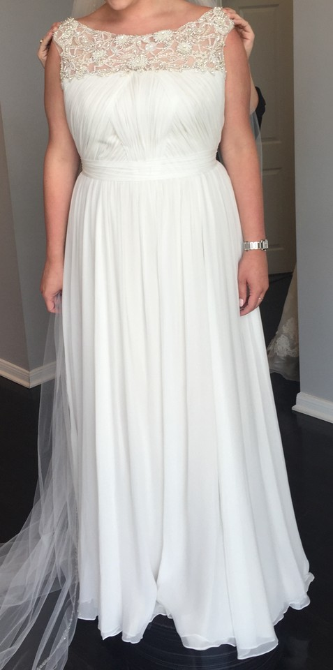 Anne Barge Ivory/Fawn Silk/Chiffon/Charmeuse Black Label - Fontaine ...