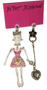 Betsey Johnson Betsey Johnson Skeleton Earrings