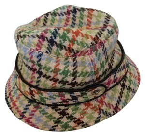 Coach Coach Wool Herringbone Bucket Hat
