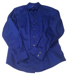 Banana Republic Button Down Shirt Royal blue