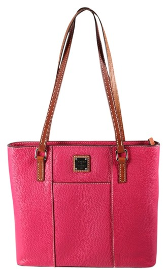 Preload https://item3.tradesy.com/images/dooney-and-bourke-small-lexington-shopper-strawberry-red-pebble-leather-tote-12906547-0-1.jpg?width=440&height=440