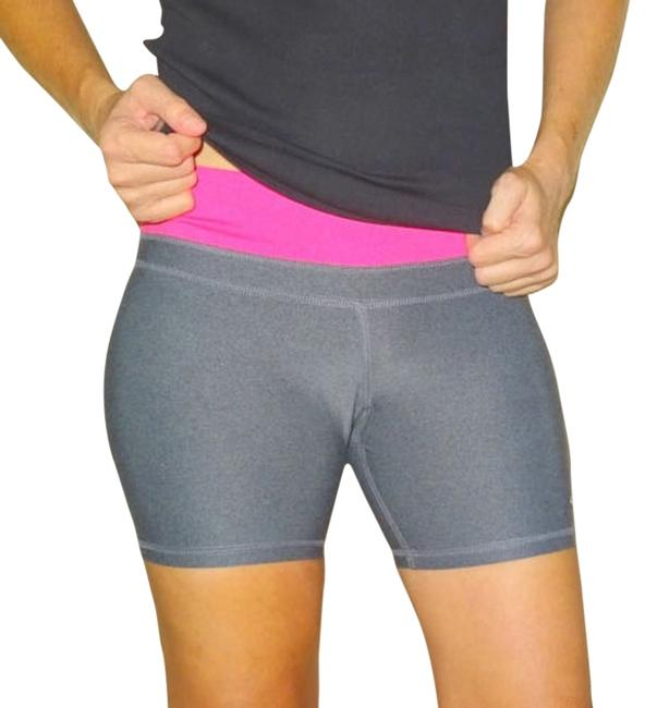 Preload https://item3.tradesy.com/images/champion-grey-gray-pink-silver-reflect-women-s-fitness-yoga-gym-workout-spandex-athletic-shorts-size-12906607-0-1.jpg?width=400&height=650