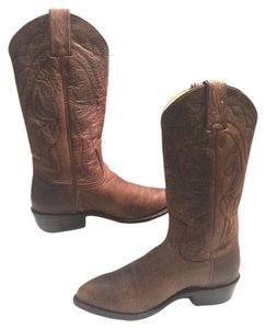 Frye Cracked Leather Style #76875 Brown Boots