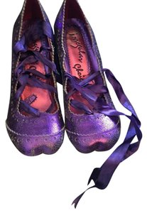 Irregular Choice Purple Pumps