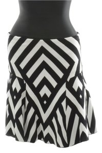 RVN Skirt Black and White
