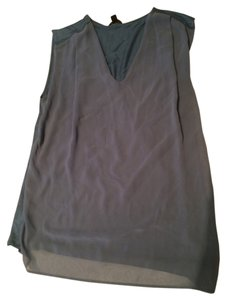 Ann Taylor Top Blue/gray