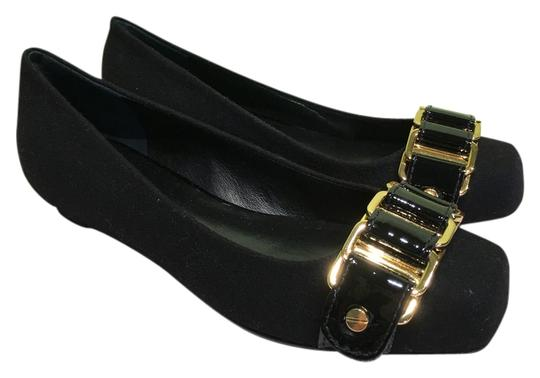 Preload https://item5.tradesy.com/images/tory-burch-black-martha-flannel-with-gold-chain-and-patent-details-with-box-flats-size-us-6-12907384-0-1.jpg?width=440&height=440