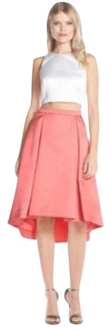 Preload https://item2.tradesy.com/images/xscape-coral-and-white-high-low-cocktail-dress-size-6-s-12907456-0-2.jpg?width=400&height=650