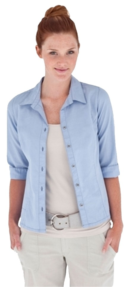 f46774849ec Royal Robbins Salvia Blue New with Tag Women's Cool Mesh 3/4 Sleeve Shirt  X-small. Button-down Top Size 0 (XS) 58% off retail