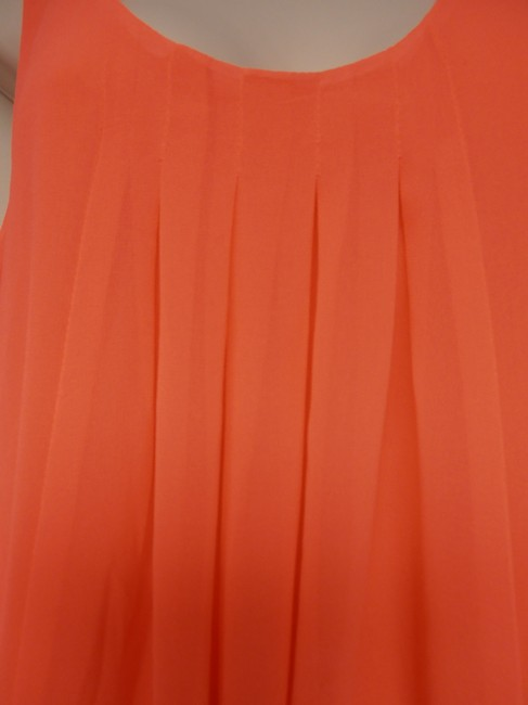 H&M short dress neon pink/coral Lined on Tradesy