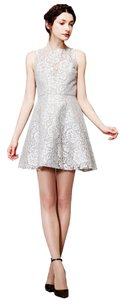 Alice + Olivia A+o Cocktail Lace Cocktail Open-back Dress
