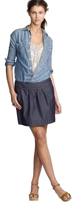 J.Crew Denim Short Calvary Women Banana Republic Skirt Blue wor