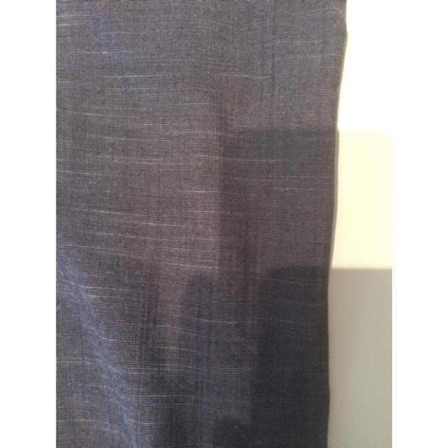 New York & Company Trouser Pants Navy with silver threads