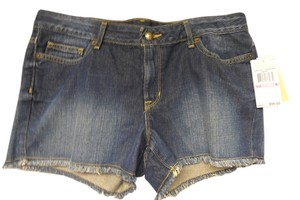 Michael Kors Boyfriend Cut Off Shorts denim