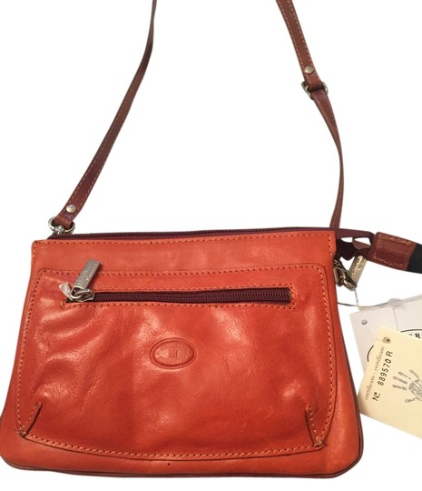 Preload https://item1.tradesy.com/images/orange-leather-cross-body-bag-12907780-0-1.jpg?width=440&height=440