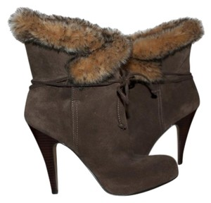 Nine West Suede Fur brown Boots