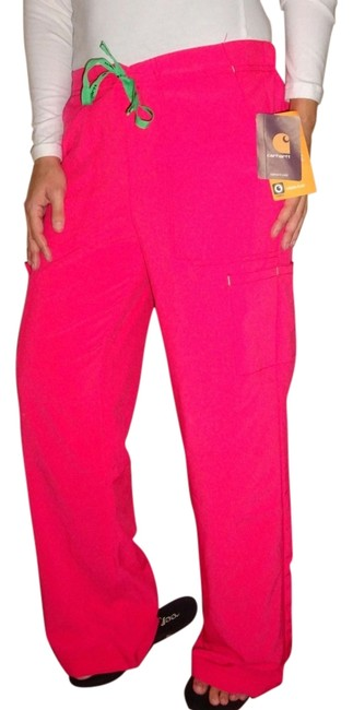Preload https://img-static.tradesy.com/item/12908194/carhartt-coral-pink-cross-flex-vivid-nurse-doctor-scrub-medical-lounge-comfortable-s-small-relaxed-f-0-1-650-650.jpg