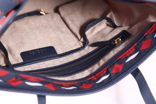 Michael Kors Tote in Navy Blue/Red
