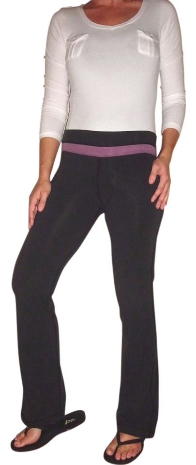 e0b00e152aa0ab Victoria's Secret Black Purple Lavneder XS Pink Vsx Sleek Fit Yoga Band |  Activewear Bottoms